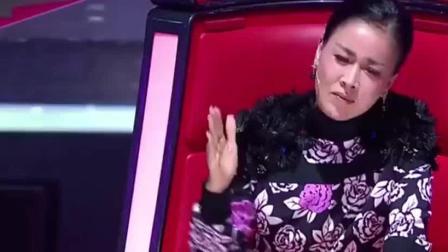 中国好声音: 神秘歌手来踢馆, 原唱听了都认输, 导师转身后不淡定了