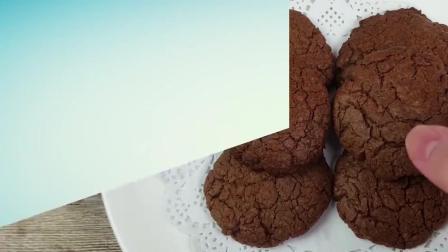 你爱吃巧克力饼干吗? 其实做法很简单, 在家就能轻松搞定哦!