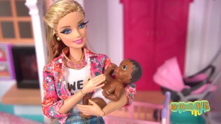 芭比公主: 芭比挑战当妈妈24小时