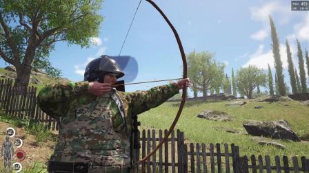 人渣scum: 用树皮做成的弓, 一箭一个爆头, 分分钟五连杀!