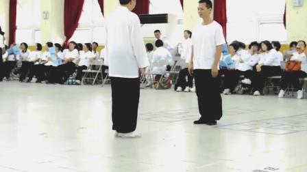 台湾流传杨家太极拳散手对练套路 这让太极拳接近实战还有多远