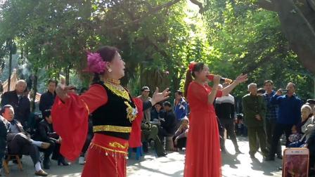 电子琴伴奏: (呼伦牧歌): 女声表演唱: 歌伴舞: 广场舞: 赛飞燕唱: 伴舞陈