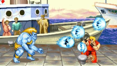 【小握解说】布兰卡的一串波动拳《街头霸王: 冠军惩罚版》布兰卡之章