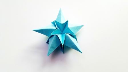 折纸王子折纸五角许愿星