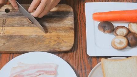 """【吐司披萨】""""懒癌福音"""", 快捷简易的营养早餐, 最快10分钟搞定_"""