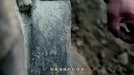 工厂开山炸石发现大型古墓, 墓室被水泡千年, 专家抽水后被吓到