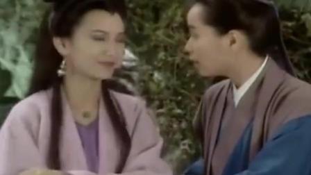 白素贞担心小青现原形 让她先走 白娘子自己来应付!
