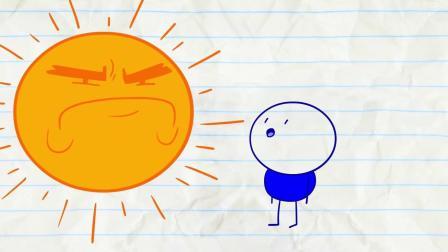 铅笔同学作弊被抓! 孩子们用铅笔画的卡通_2