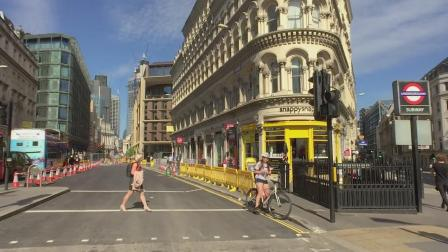 带您步行英国伦敦, 从霍尔伯恩车站走到白教堂车站