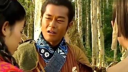 项少龙受伤出门活动, 跟乌廷芳说了一堆现代词语, 乌廷芳都听不懂!
