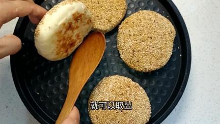 教你烧饼的制作方法, 咬一口味道喷香, 真馋人