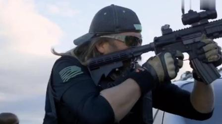 这才是枪战火爆大片, 近距对抗, 疯狂扫射, 不死不休, 燃爆至极