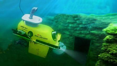 牛人用浴缸打造潜水艇, 下水自动沉没, 真有人敢坐吗?