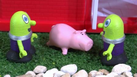 托马斯: 小绿人麦当劳汉堡店开业啦, 送给超级英雄们汉堡和礼物
