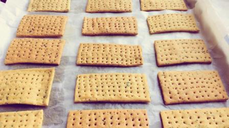 想吃饼干不用买, 教你在家自制苏打饼, 健康营养无添加