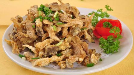 饭店必点炸蘑菇的做法, 只要做好这一步金黄酥脆比肉还香!
