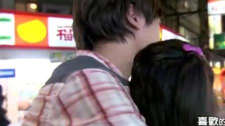 恶作剧之吻2: 湘琴喝醉酒, 直树牵她回家, 简单的一幕却很幸福!