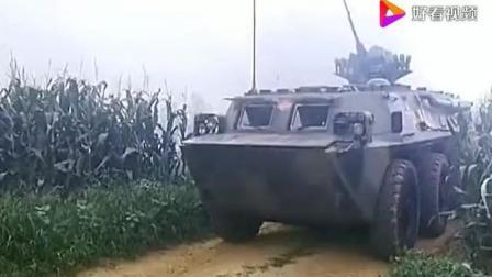 和平使命: 联合演习, 步战车第一时间和士兵抢占山头赢得胜利