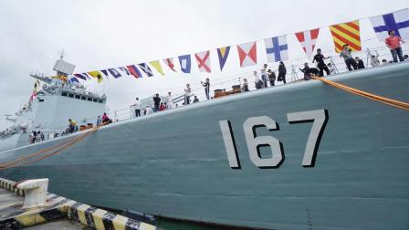 神州第一舰 | 中国海军 深圳舰 市民开放日 |  VLOG