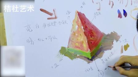 桔社艺术出品 色彩单体西瓜