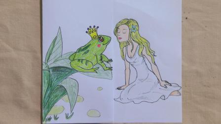 脑洞漫画公主亲吻青蛙王子的故事, 这剧情改编之后, 我乐了