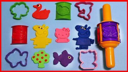 凯蒂猫培乐多彩泥橡皮泥模具宝宝儿童玩具