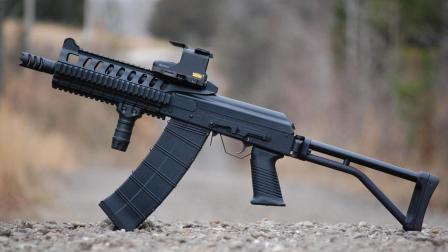 吃鸡游戏中SK12K霰弹枪的原型, 毛子硬汉AK风格的Saiga-12霰弹枪