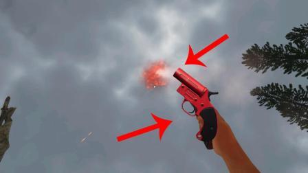 【每日游戏】荒岛求生: 捡到一把信号枪, 我能召唤出超级空投吗