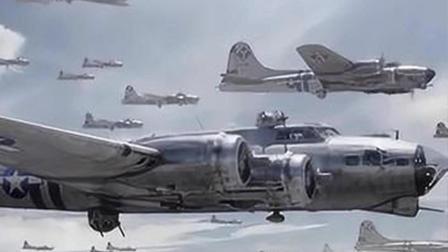 二战史上德军最大轰炸机群空袭英国本土! 闪电战打得英军猝不及防