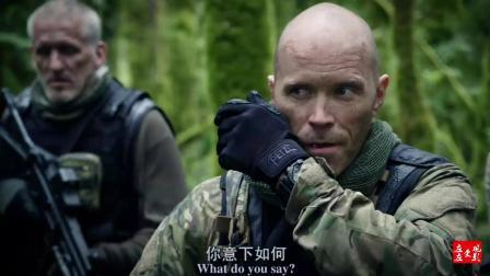 一部超燃动作片, 海军陆战队员丛林作战, 轻松消灭来敌人。