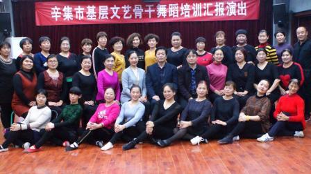 辛集市基层文艺骨干舞蹈培训展演(第二组)