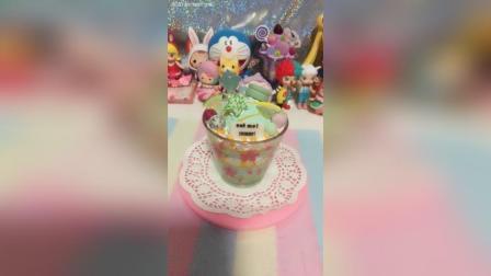 冰杯蛋糕哈密瓜系列