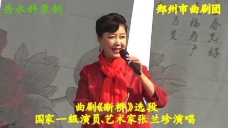 曲剧《断桥》选段, 国家一级演员、艺术家张兰珍演唱, 郑州市曲剧团
