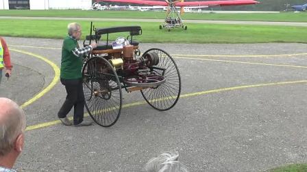 大爷这三轮车采用了奔驰的专利技术, 太牛了
