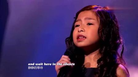 原来7岁女孩谭芷昀参加过美国综艺节目, 这英语