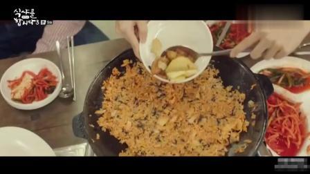 一起用餐吧: 烤肉店里一定要吃炒饭, 加了这样菜, 炒饭会更好吃
