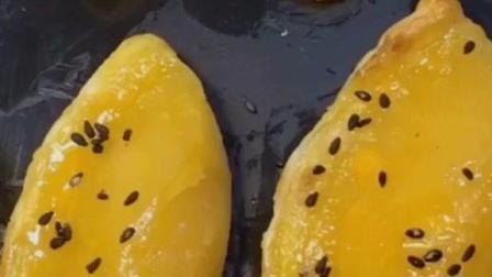芒果蛋挞, 朋友聚会时最好的点心, 做法简单。