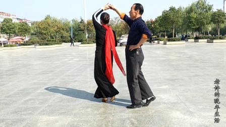广场交谊舞, 三步舞, 歌曲和舞蹈都非常优美