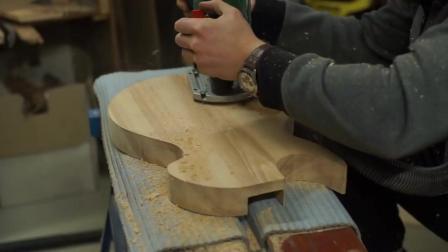 手把手教你制作一把电吉他 - 全过程教学视频