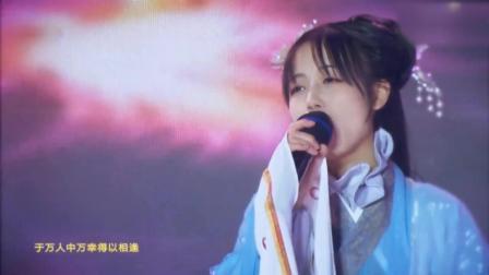 银临携歌曲《不老梦》登古风音乐盛典舞台, 汉服着装美丽如画