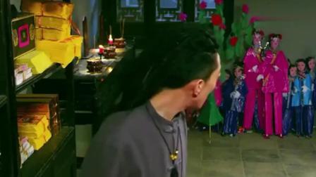 阴阳先生: 嫌弃大师给他烧的衣服, 现身报复, 笑死我了