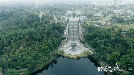 航拍隆昌古宇湖