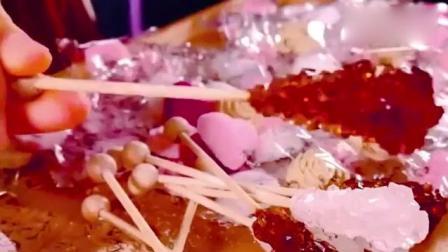棒棒糖是怎么做成的? 看过程比吃糖还舒服, 网友: 不敢给孩子吃了