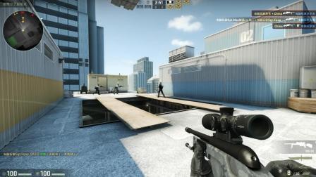 【CSGO】Jump Sniper - Vertigo: SSG 08 (T20 | C0T8) [20181110]