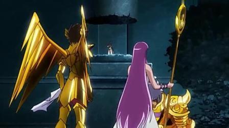 圣斗士星矢: 雅典娜的神衣现身, 准备和自己的亲姐妹决一死战