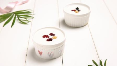 3步做好酸奶布丁, 感觉自己无所不能, 老少皆宜酸甜适口