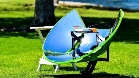 哈佛博士发明太阳能灶, 做饭不用电, 烧水比木炭快5倍!