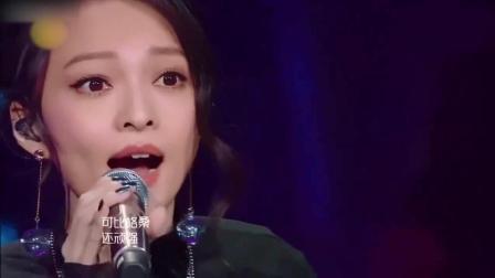 我是歌手: 张韶涵实力演唱民谣《阿刁》, 3分48秒处高音令人惊艳