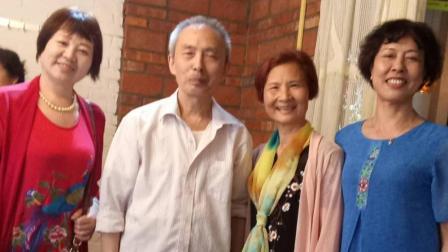 荆州卫校1972级护士一班荆州同学2018年5月聚会
