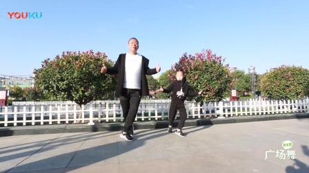 爸爸鬼步舞跳得好-_女儿也继承了舞蹈天赋-_父女俩这组合太默契啦
